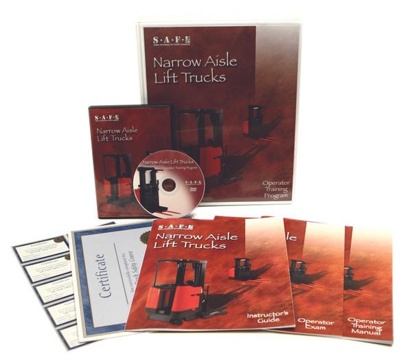 Lift Safe Narrow Aisle Reach Truck DVD Training Kit