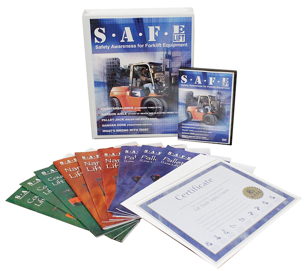 Lift Safe All In One Training DVD Kit