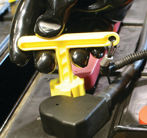 Cap-off Forklift Battery Cap Removal Tool
