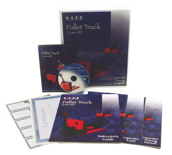 Lift Safe Pallet Truck DVD Training Kit