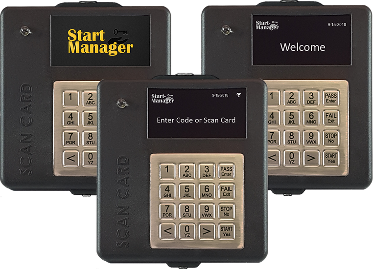 Start Manager Operator Access Control System