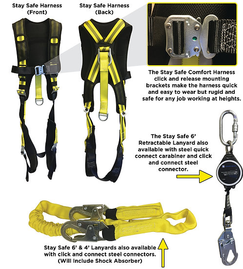 Stay Safe Comfort Harness