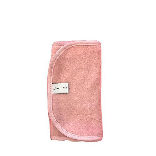 Take it off Towel Pink