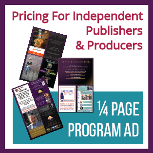 1/4 Page Program Ad (For Independent Publishers/Producers)