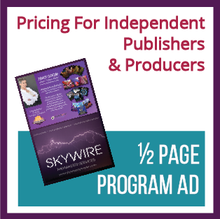 1/2 Page Program Ad (For Independent Publishers/Producers)