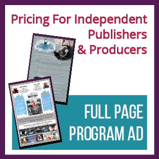 Full Page Program Ad (For Independent Publishers/Producers)