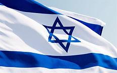 thumb2-israeli-fabric-flag-4k-blue-sky-a