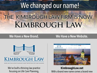 Kimbrough Law Firm Unveils New Name, Brand and Website