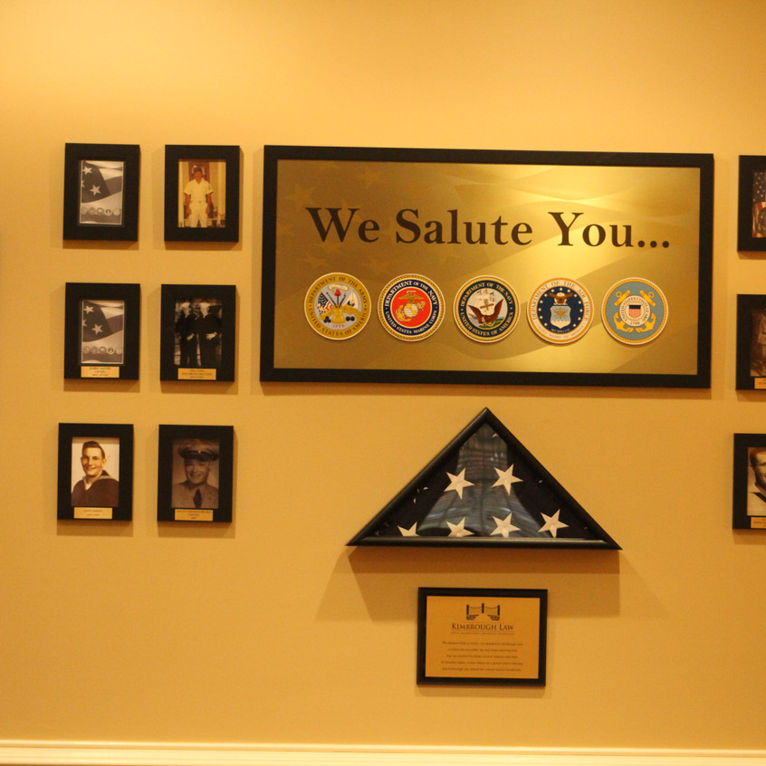 Veterans Wall