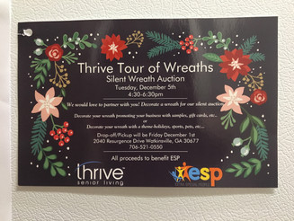 Thrive Tour of Wreaths