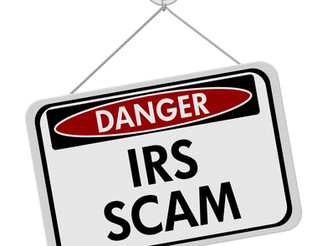 Beware the IRS Scam Letters
