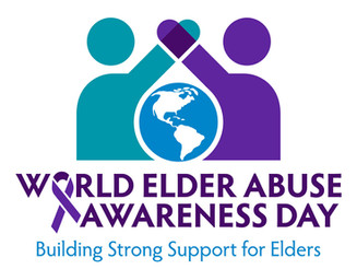 Today is World Elder Abuse Awareness Day