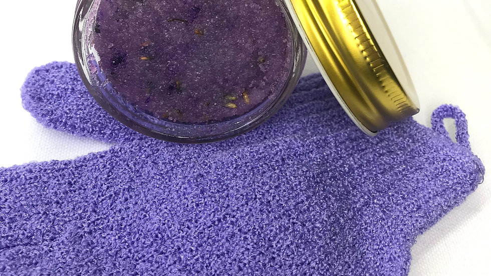Lovely Lavender Body Scrub 4oz
