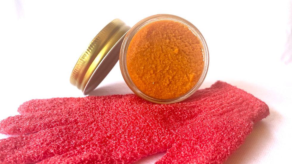 Orange Turmeric Body Scrub