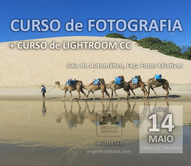 Curso Básico de Fotografia + Curso de Lightroom CC