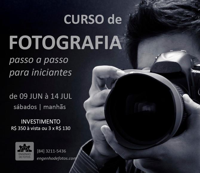 Curso Básico de Fotografia - MAIO