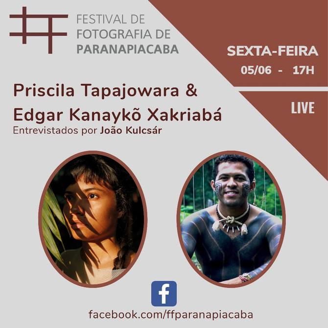 Festival de Fotografia de Paranapiacaba, pelo Facebook - Live às 17h