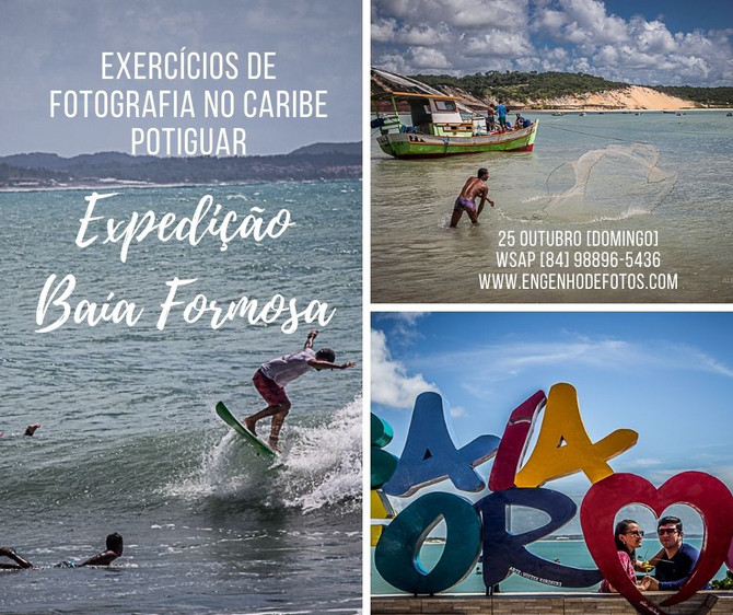 Exercícios Fotográficos no Caribe Potiguar