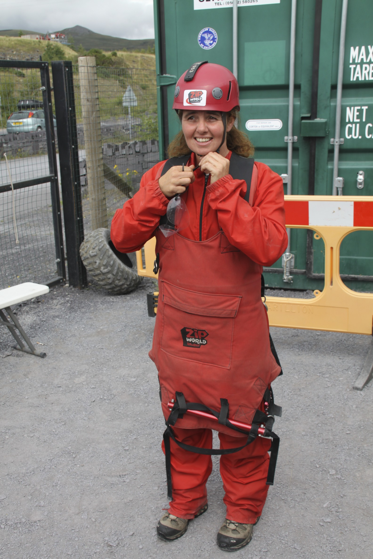 Kit up for Zip Wire