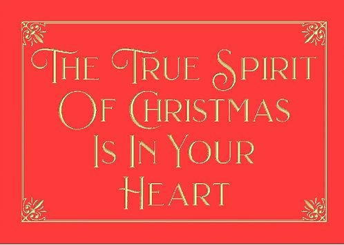 The True Spirit of Chrsitmas
