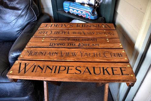 Yacht Club Folding Table