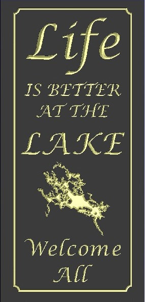 Life is better at the lake---Winnipesaukee