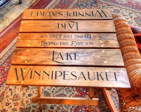 Winnipesaukee Folding Deck/Dock Table