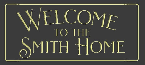 Personalized Welcome to the Home