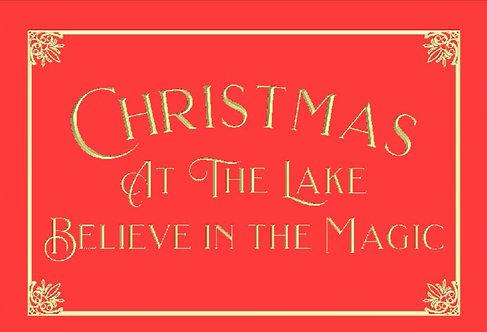 Christmas at the Lake--Magic
