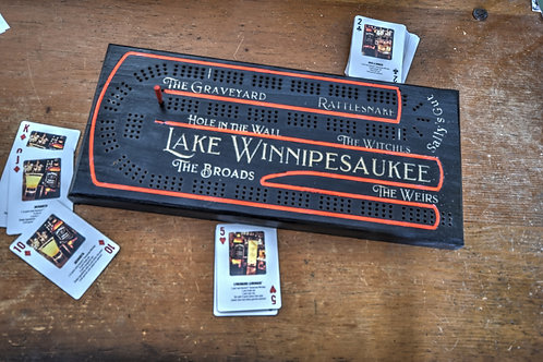 Neon Cribbage Board