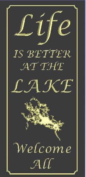 Life is better at the lake---Winnipesaukee