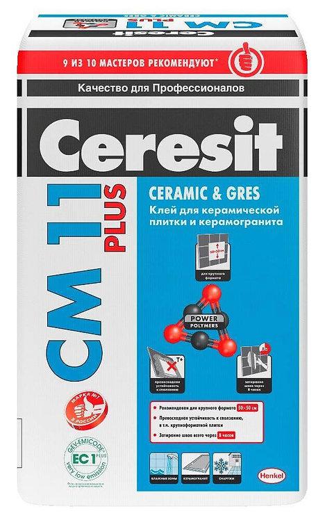 Клей для плитки Церезит СМ11 Плюс (Ceresit CM11 Plus), 5кг