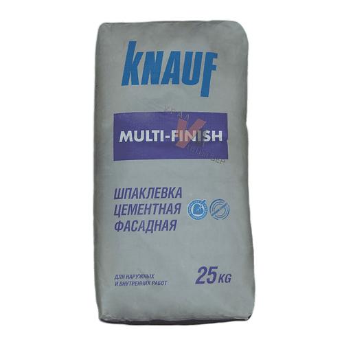 Шпаклевка цементная Кнауф Мультифиниш (Knauf Multi-Finish) серая, 25кг