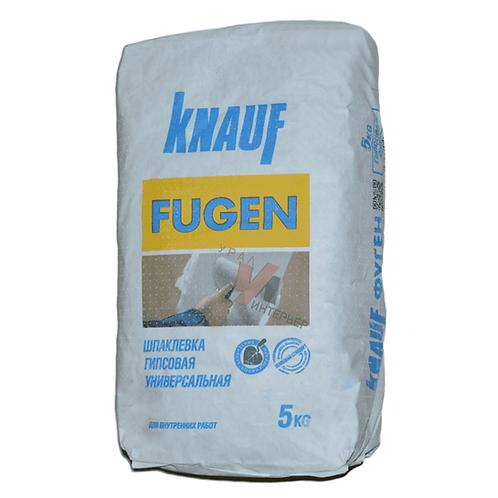 Шпаклевка гипсовая универсальная Кнауф Фуген (Knauf Fugen), 5кг