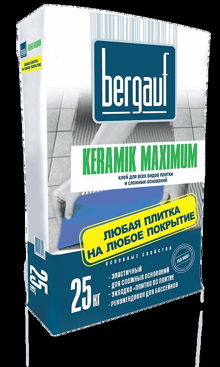 Клей для плитки Бергауф Керамик Максимум для сложных оснований, 25кг