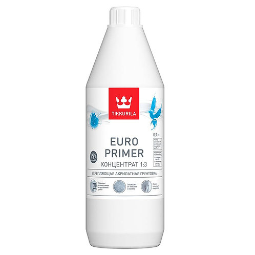 Грунтовка Евро Праймер 0,9л Тиккурила