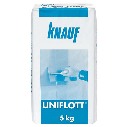 Шпаклевка гипсовая Кнауф Унифлот (Knauf Uniflott), 5кг