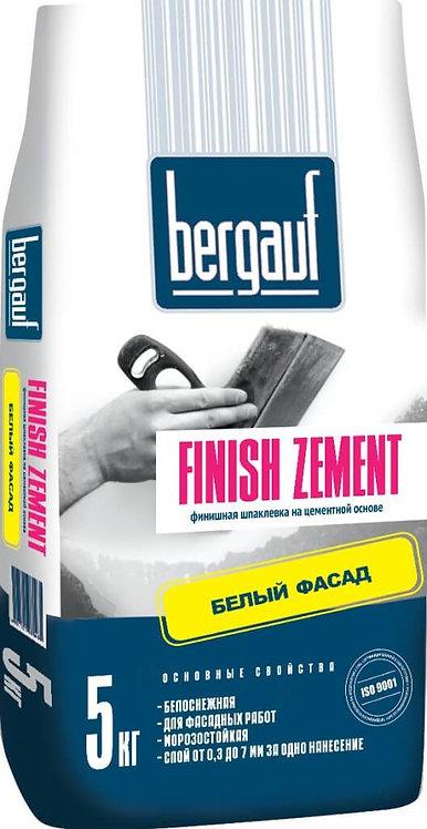 Шпаклевка Бергауф Финиш Цемент (Bergauf Finish Zement) белая, 5кг