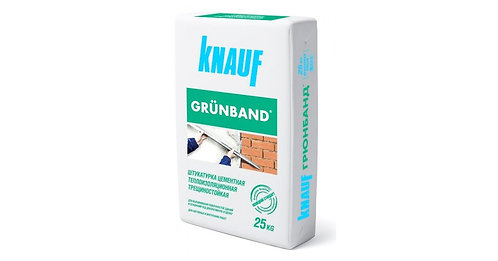 Штукатурка теплоизоляционная Кнауф Грюнбанд (Knauf Grunband) для фасадов, 25кг