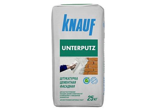Штукатурка цементная Кнауф Унтерпутц (Knauf Unterputz), 25кг