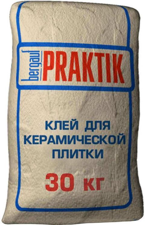 Клей для плитки Бергауф Практик (Bergauf Praktik), 30кг