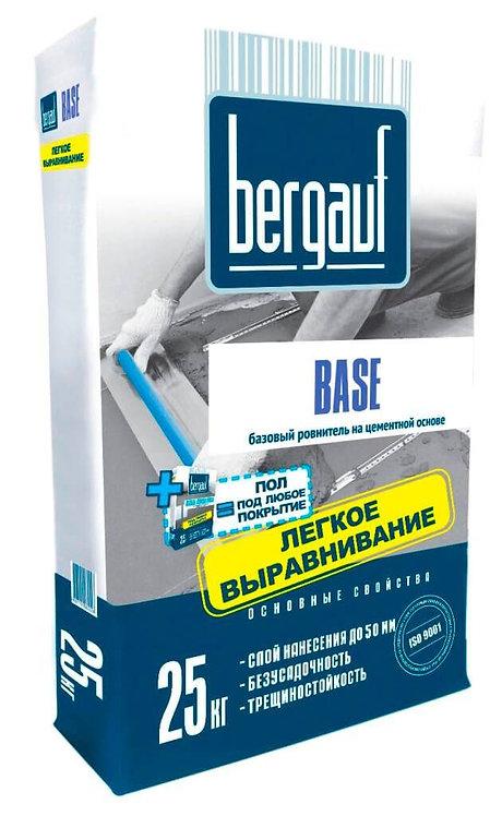 Ровнитель для пола Бергауф Бейс (Bergauf Base) базовый толщ.5-50мм, 25кг