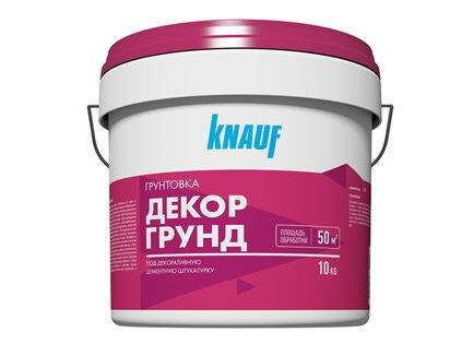 Грунтовка Кнауф (Knauf) Декоргрунд, 10кг