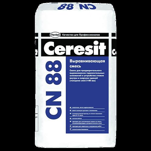 Высокопрочная стяжка для пола Церезит (Ceresit) CN88, толщ. 5-50мм, 25кг