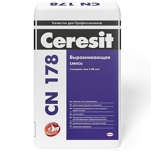 Смесь Церезит CN178 для выравнивания оснований пола и изготовления стяжек