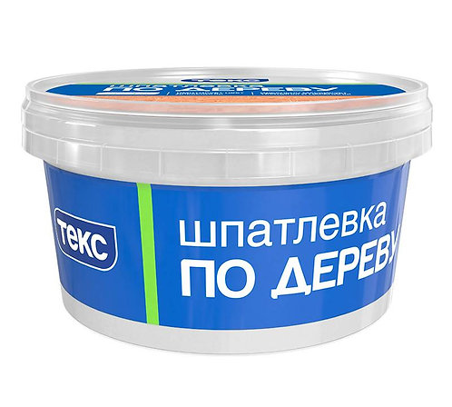 Шпатлевка по дереву ПРОФИ белая 0,25кг ТЕКС (60шт/уп)