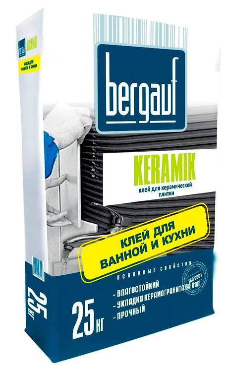 Клей для плитки Бергауф Керамик (Bergauf Keramik), 25кг