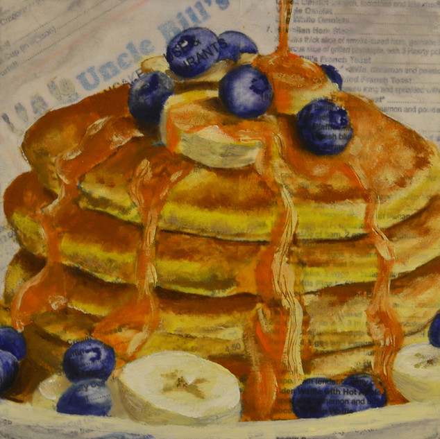 """Day 1 - """"Blueberry Stack"""""""