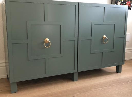 IKEA Besta cabinet hack