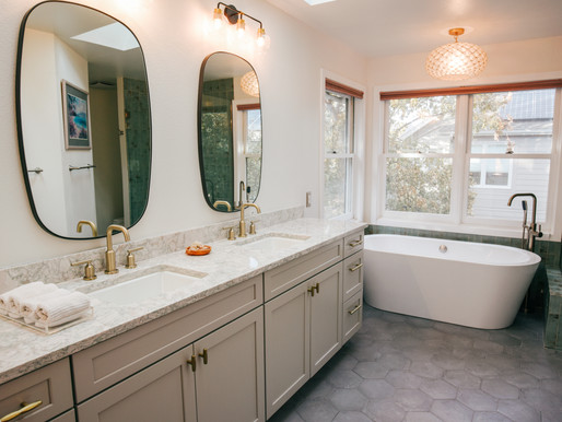 master bathroom remodel | boulder co